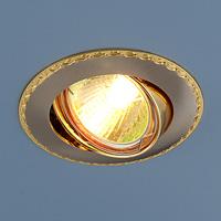 Светильник точ - 635 SNG сатин никель/золото