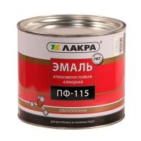 Эмаль ПФ-115 (Лакра Синтез) шоколадно-коричневый 2кг