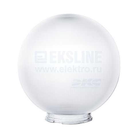 Рассеиватель шар для садово-парковых светильников UPF-R300A прозрачный