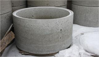 Кольцо бетонное КС15-9 с замком вес -1000 кг Сафоново