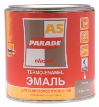 Эмаль для радиаторов PАRADE А-5 белая п/матовая 0,75 гр