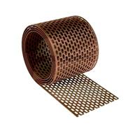 Вентиляционная лента 10смх5м коричневая