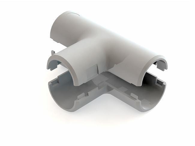 Тройник для труб ф32  2 шт