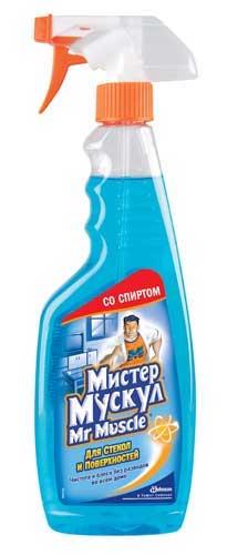 Мистер Мускул для стекол Синий 500 мл (130р.)