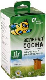Биоактиватор Зеленая сосна 300г для туалет без вод.слива (1уп.12пакетов)