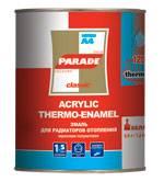 Эмаль для радиаторов PАRADE А-4 белая п/матовая 0,450 гр