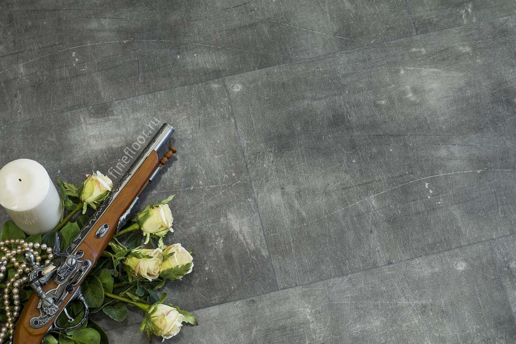 Ламинат кварц-виниловый FineFloor  Stone FF-1540 Детройт 655х324х4,5мм(1уп,-1,49м2) 43кл.