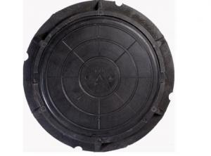 Люк полимерный 110 мм х ф-760 мм (черный), масса 38 кг, нагрузка 7 т