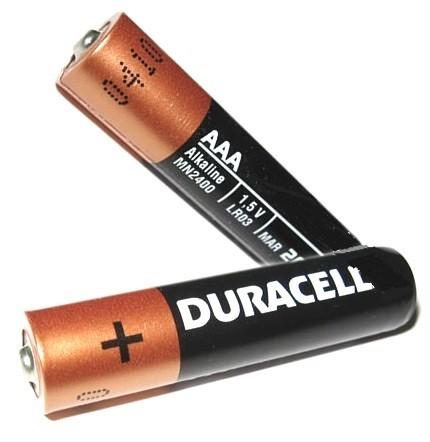 Батарейка пальчиковые Duracell АА блистер-2штуки