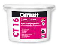 Грунт под декор покрытия Церезит СТ16 фасадная 10 кг