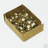 Гвозди декоративные (золото)  100шт.