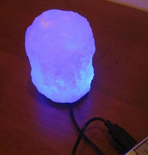 Светильник настол.солевой Скала USB SLU-100СД