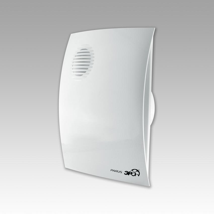 Вентилятор осевой вытяжной Парус 5С