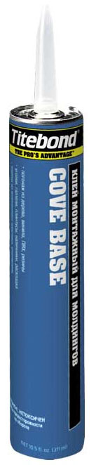"""Жидкие гвозди  синяя туба """"Titebond"""" св-бежевый(пенополист,изделия из древес.мдф,пвх,пластик)311 мл (США)"""