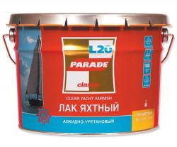 Лак яхтный PARADE алкидно- уретановый п/матовый 10л