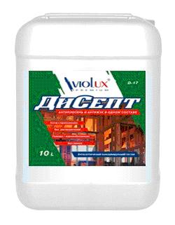 Антисептик ДиСепт Viotex Д-17 10л для древесины