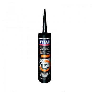 Герметик Титан для кровли каучуковый  черный 310 мл