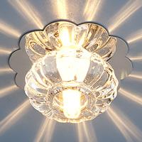 Светильник точ. SD847 G4(WH)хром/бел