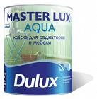 Эмаль DULUX акрил п/гл.Master Lux Аqua401л BW