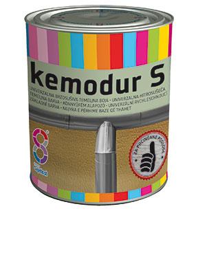 Грунт KEMODUR-S д/оцинков.поверх.0,75л красно-кор.