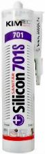 Герметик силикон санитарный KIM TEC белый 701Е 310мл