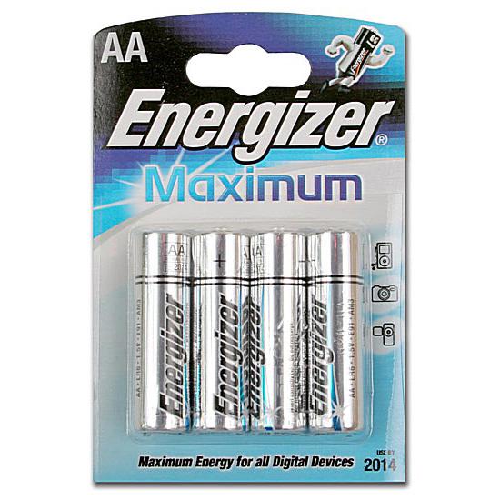 Батарейка щелочная*12 ENR Maximum LR03 AAA 4шт/бл