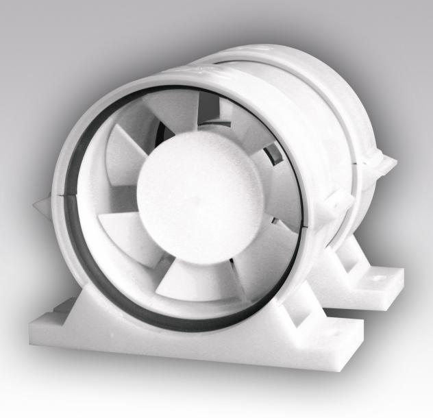 Вентилятор осевой канальный ПРО6 приточно-вытяжной