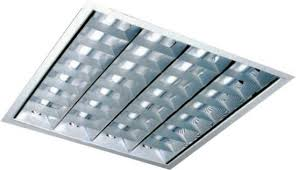 Светильник встраеваемый ЛВО 4*18 для подвесных потолков АРМСТРОНГ 84519
