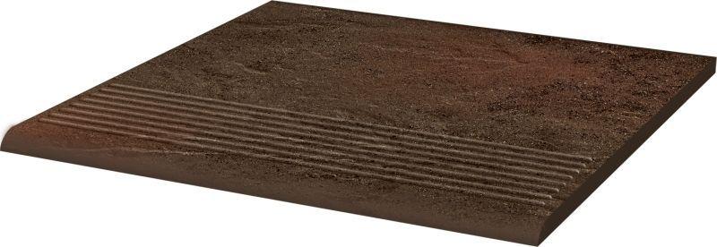 Плитка базовая структур. Semir Brown Klink 300х300 мм
