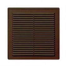 Решетка разъем. с моск. сеткой 1515Р коричневая