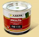 Эмаль ПФ-115 (Лакра Синтез) зеленый 2 кг