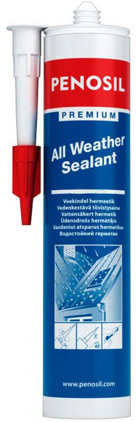 Герметик PENOSIL каучуковый водостойкий для крыш бесцветный 310мл