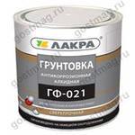 Грунт ГФ-021 серый 2,5 кг  (Лакра Синтез)