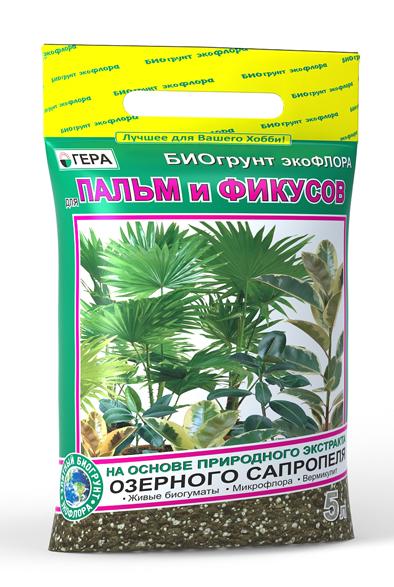 """БиоГрунт """"Для пальм и фикусов"""" 5л"""