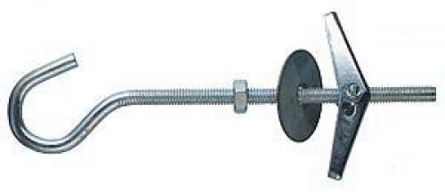 Дюбель складной пружинный с крючком М5х100 мм