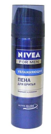 Пена для бритья NIVEA Увлажняющая 200мл