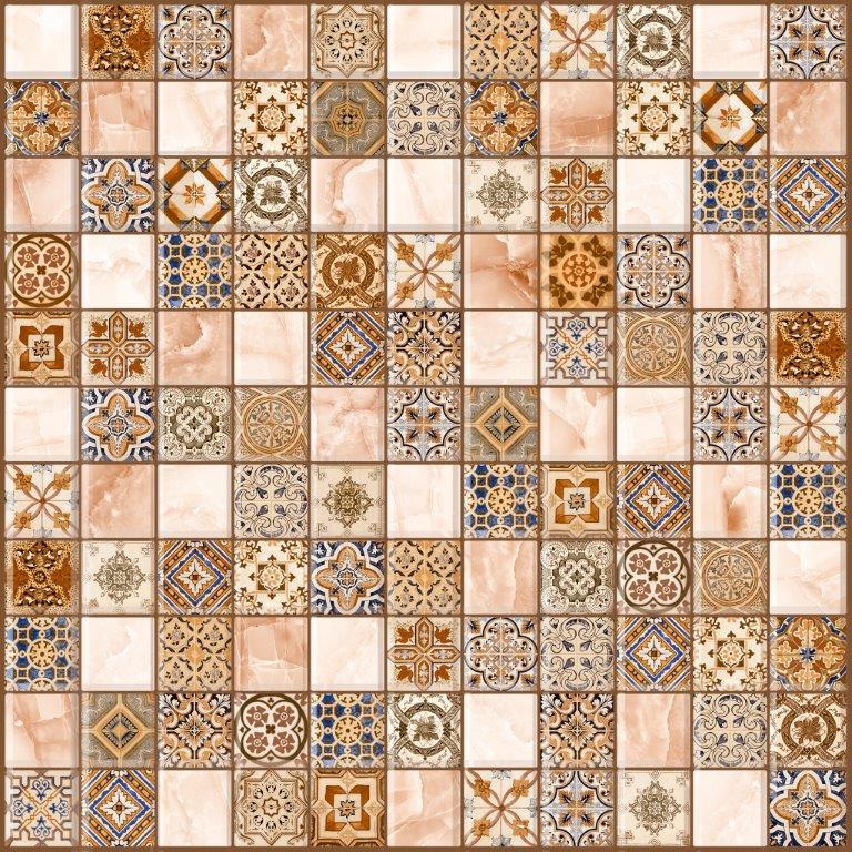 Мозаика Орнелла коричн. 5032-0199 30X30
