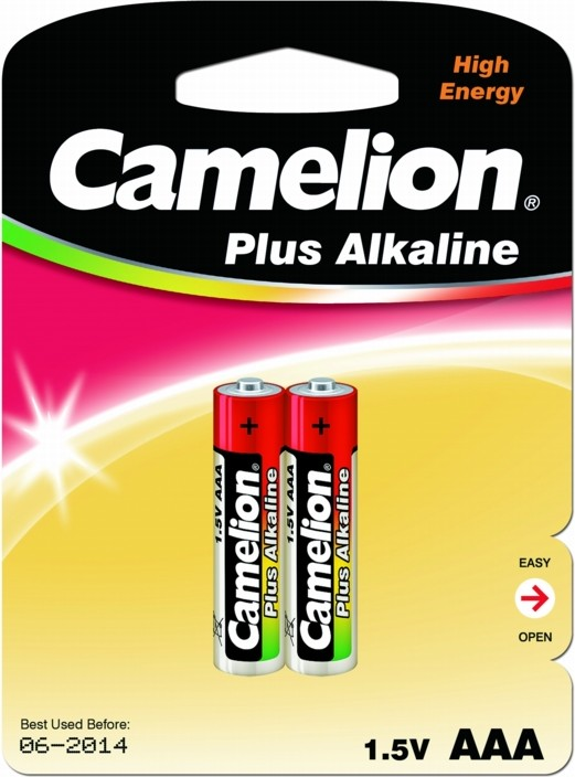 Батарейка мизинец Camelion Alkaline bl-2