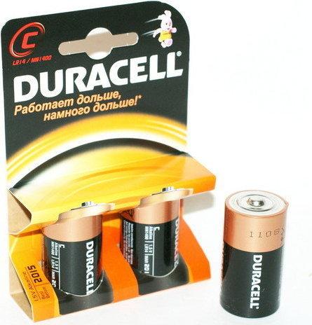 Батарейка средняя Duracell