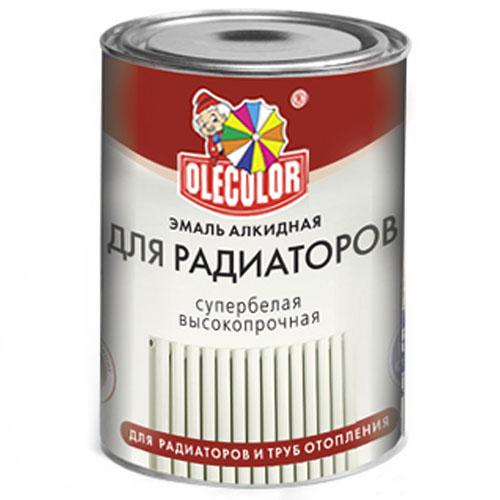 Эмаль для радиаторов акриловая 1кг OLECOLOR