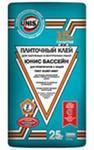 """Клей для плитки """"ЮНИС БАССЕЙН"""" 25 кг"""