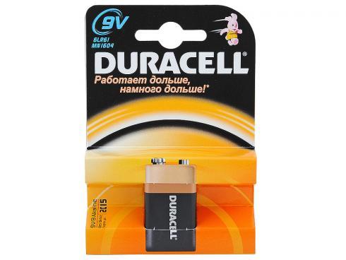 Батарейка Крона Durasell 6LR61 9V блистер-1шт