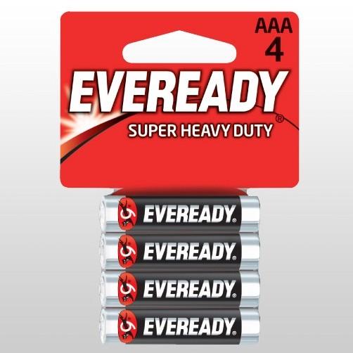 Батарейка солевая*12 EVR SUPER R03 AAA 4шт/бл