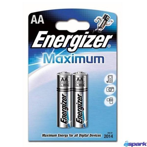 Батарейка щелочная*12 ENR Maximum LR6 AA 2шт/бл