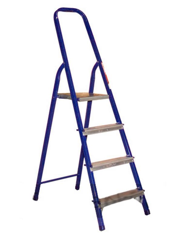 Стремянка стальная  4 ступени (1,53 м)