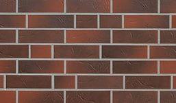 Плита Ничиха WDX673  405х1000х14 мм темный кирпич