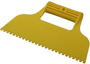 Шпатель для клея пластмасс зуб 4х4мм