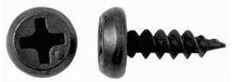 Саморезы 3,5х11,5  б/сверла черный клоп