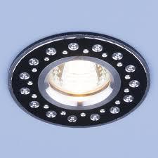 Светильник точ - 2008 BK черный.
