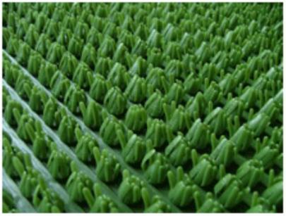 Коврик щетинистый  0,9х15 (зеленый)